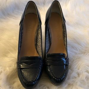 Patent leather navy size 7